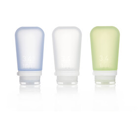 humangear GoToob 100ml pack of 3 green/blue